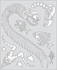 Artool Iwata Craig Fraser Curse SkullMaster Airbrush Paint Stencil Petting Zoo