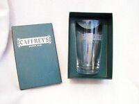 CAFFREYS IRISH ALE PINT GLASS SET WITHIN PRESENTATION BOX