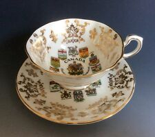 "Paragon By Appointment Fine Bone China England Teacup And Saucer Set "" Canada"""