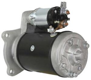NEW 11T STARTER MOTOR FITS CASE DAVID BROWN TRACTOR 1200 1210 1212 990 995 27413