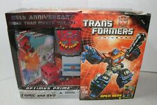 Transformers Optimus Prime 25th Anniversary with DVD and Comic