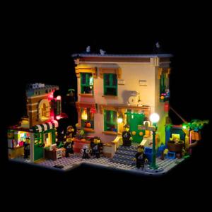 LIGHT MY BRICKS - LED Light Kit for 123 Sesame Street #21324  - NEW