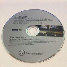 2007 2008 MERCEDES E550 CLS550 SPORT SEDAN NAVIGATION ROAD MAP DVD 2014 UPDATE ©