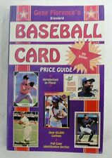 GENE FLORENCE'S BASEBALL CARD PRICE GUIDE BOOK DATED 1993
