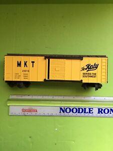 """K-LINE S GAUGE R-T-R """"MKT"""" The Katy BOXCAR # 24016"""