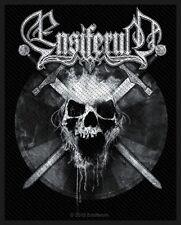 ENSIFERUM - Patch Aufnäher - Skull 10x7cm