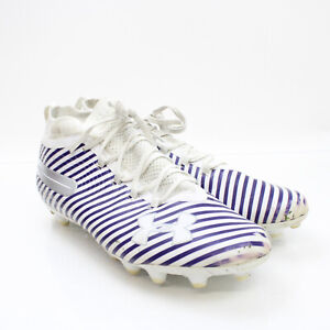 Houston Texans Under Armour Football Cleat Men's White/Purple Used