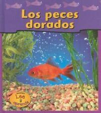 Los Peces Dorados = Goldfish (Mascotas de Mi Casa) (Spanish Edition)-ExLibrary