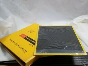 "Kodak 10x12"" OA Darkroom Printing Safelight Glass Filter *** New ***"