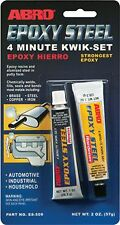 Abro Epoxy Steel Metal Resin Weld Filler Adhesive Putty - Automotive Grade 57g