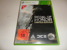 XBox 360  Medal of Honor - Limited Edition  USK 18