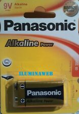 1 pila alcalina 9v 6lr61 Panasonic Alkaline Power