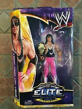 Mattel WWE BRET HIT MAN HART Elite Figure Wrestlemania XXX 30 Flashback