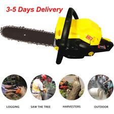 20 Inch Bar Gas Chainsaw 45cc Chain Saw Cutting Wood 2 Cycle Engine Gasoline VP