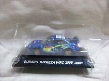 SUBARU IMPREZA WRC 2005 JAPAN No.5 1:64 Scale CM's Rally Car Collection
