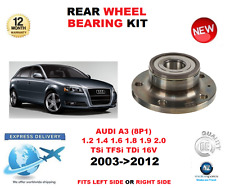 FOR AUDI A3 REAR WHEEL BEARING 2003->2012 1.2 1.4 1.6 1.8 1.9 2.0 LEFT or RIGHT