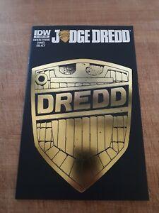 Judge Dredd #1 IDW Subscription Variant Htf NM