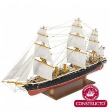 """New, elegant wooden model ship kit by Constructo: the """"HMS Warrior"""""""