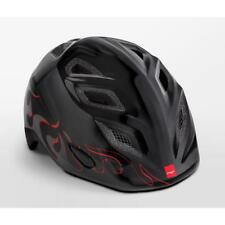 Childrens cycle helmet MET Elfo Black Flames 46 - 53 cm