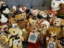 Boyds Bears Plush Variety Mixed Lot Of 24 with tags.
