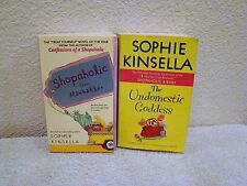 Lot of 2 Sophie Kinsella Pb Bks, Shopaholic Takes Manhattan & Undomestic Goddess