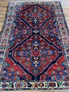 Bakhtiyar | 140 x 212 | Handgeknüpft | Orientteppich | Carpet | Rug