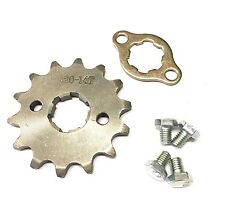 NEW #420 CHAIN FRONT PINION SPROCKET WITH 14 TEETH FOR ATV, DIRT BIKE, GO KARTS