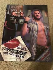 2001 WWF Merchandise Catalog Shirt Mask UNDERTAKER EDGE Y2J JERICHO ROCK LITA