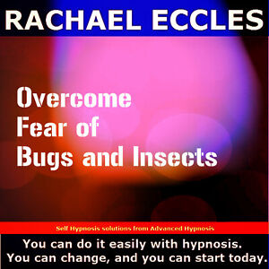 Fear of Bugs and Insects, Entomophobia Hypnotherapy, Phobia Self Hypnosis CD