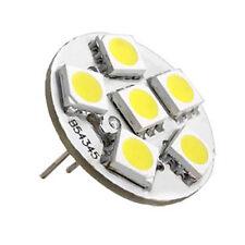 6 SMD LED G4 Strahler Leuchte Lampe Birnen Warmweiß Neu DC 12V GY