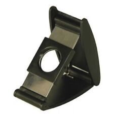 Unique Folding Compact Black ABS Double Blade Guillotine Style Cigar Cutter ~