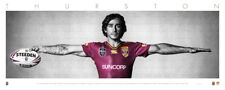 Johnathan Thurston Maroons Wings UNSIGNED Unframed - Wholesale Pricing