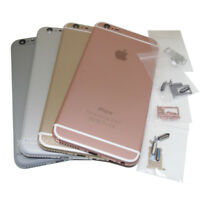 Battery Metal Cover Housing Back Door Sim Card Tray Holder For iPhone 6 Plus 5.5