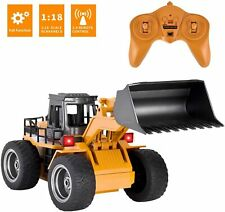 Remote Control Bulldozer RC Car Construction Truck Front Loader Truck Kids Toy