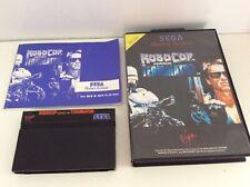 Sega Master System Robocop Versus The Terminator
