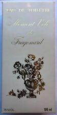 Vintage Moment Vole de Fragonard Eau de Toilette 190 ml 6.33 ounces New With Box