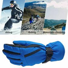 Mens Ski Mittens Winter Snow Thermal Snowmobile Snowboard Gloves Waterproof -30℃