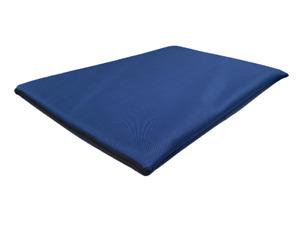 "Luxury Plush Grey Dog Bed Cushion Pet Mattress soft Cover indoor use 27""x38"""
