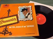 LP Vinyl Fritz EDTMEIER KENNST DI AUS Stammtisch Polydor 94089 Mint Sonderauflag