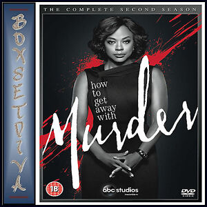 HOW TO GET AWAY WITH MURDER - COMPLETE SEASON 2  **BRAND NEW DVD*