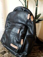 Eastpak Leather Backpack Msrp $300!