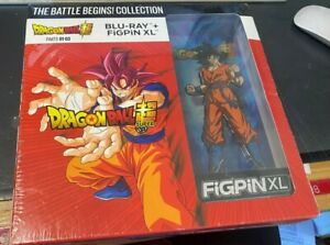 New Dragon Ball Super Parts 1-3 Box Set Walmart Exclusive Blu-ray/FiGPiN XL Goku
