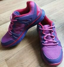 KARRIMOR Duma 2 Pink Purple Trainers Running Shoes Size UK 5 Excellent Condition