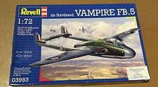 REVELL 03993 - 1/72 DE HAVILLAND VAMPIRE FB.5 - NUOVO