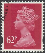 GB Stamps 2009 - Machin Definitive 62p Rosine, 2 Bands, S/G Y1786, VFine Used