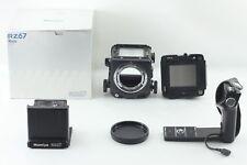 【NEAR MINT++++】 Mamiya RZ67 Pro Body Medium Camera w/ BOX + Hand Grip JAPAN