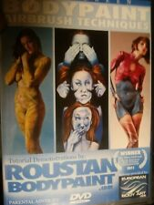 Roustan Body Paint DVD Airbrush Techniques Paul Instructional Painting Art