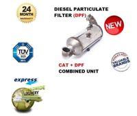 Pour Peugeot 308 1.6 HDI 2007- > Particules Diesel DPF Filtre + Chat Combiné