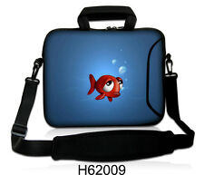 "17"" LAPTOP BAG WITH HANDLE & SHOULDER STRAP 4 ALL MAKES *FREE POST*HAPPY FISH*"