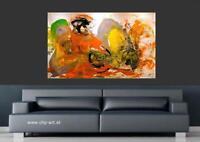 Großes Acryl Gemälde XXL Modern CHP 869 Handgemalt Bild Kunst Abstrakt 160x100cm